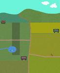 12/26: 【開拓記録】多読村wiki案内と、さかいの小屋が建ちました